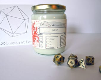 Bard Jar Candle