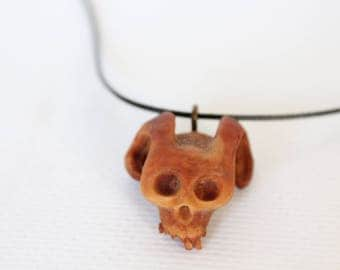 Avacado seed skull.