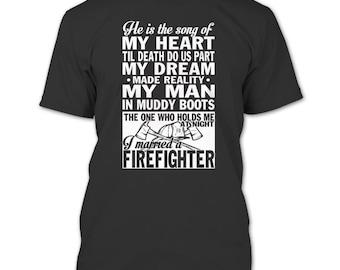 I'm Not Just Daddy's Little Girl T Shirt, I'm A Firefighter's Daughter T Shirt