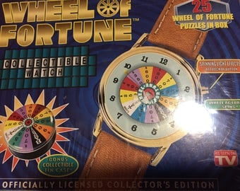 New Wheel of Fortune Collectors Watch