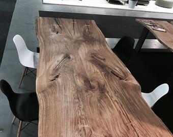 Hardwood dinning table