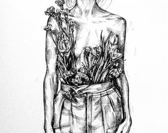 Flowers inside me
