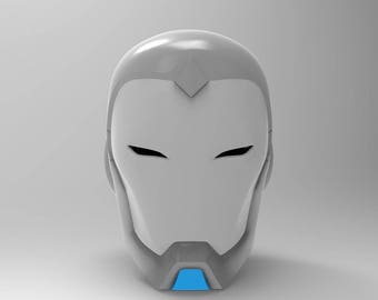 Superior Iron Man Helmet for 3D Printing
