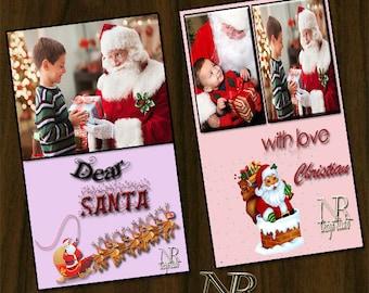 Santa claus, Christmas invitations, Xmas cards