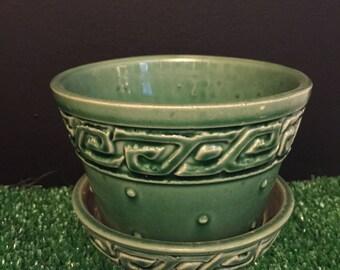 McCoy pot in green