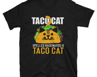 Taco Cat T-Shirt | Ultimate Cat and Taco Lover Shirt|