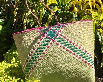 Handmade Woven Malagasy Basket