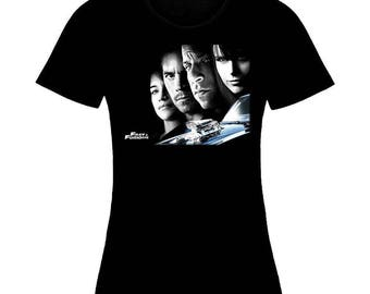 Inspired By Fast and Furious Brian O'Conner Dominic Toretto Woman T-Shirt