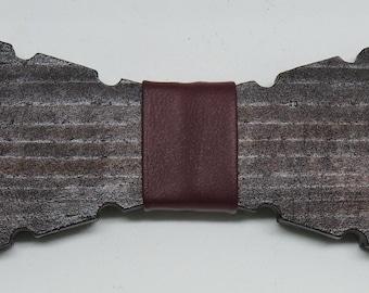 wooden bowtie for exquisite