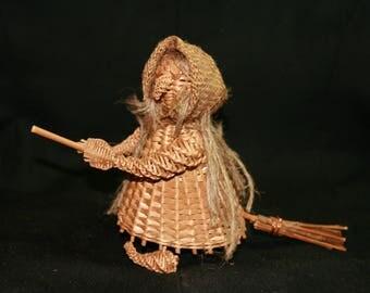 Wicker Witch Toy