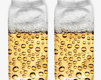 Beer Bulb Kaus kaki Hosiery Meias Calcetiness Calzini Chaussette cute low ankle cut socks High Quality Material