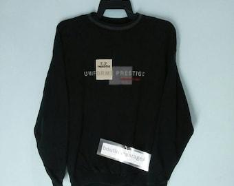 Rare!! Renoma uniforme prestige design spell out black colour large size