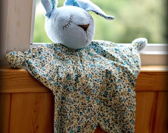 Blanket, toy for sleep, toy for a child, rabbit, Baby comforter bunny