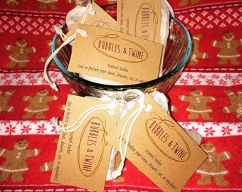 Scented Sachet Air Freshener perfect for Christmas!