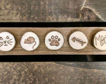 Magnets - Feline friends