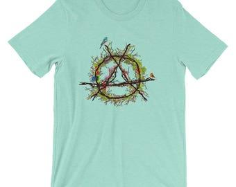 Green anarchy Short-Sleeve Unisex T-Shirt