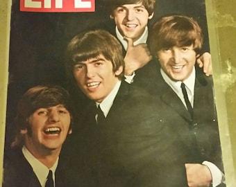 Beatles Life Magazine August 28th 1964
