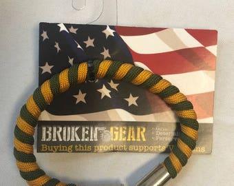 Broken Gear Bullet Bracelet - Broken Gear