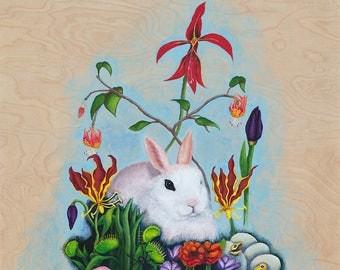 Bunny Garden Giclee Print