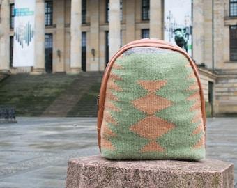 """Handwoven Wool Backpack """"Kolincha"""""""