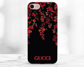 Gucci iphone 8 plus case Floral Gucci iPhone 7 case Gucci cover for iPhone Gucci Samsung S7 case Galaxy s8 plus Gucci Case Red Flowers Gucci