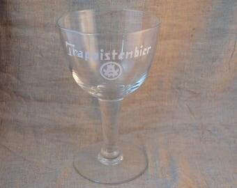 Beer Glass Trappistenbier Westmalle