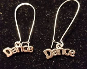 Boutique Silver Alloy ...She Loves to DANCE Earrings #C76