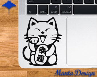 Happy Neko Cat Lucky Vinyl Decal