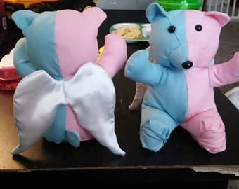 Pregnancy and infant loss awareness bear