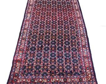 """Mahal Oriental Persian Rug 4'4""""X10'5"""" 000086"""