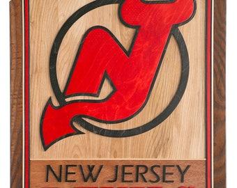 3D Art For a New Jersey Devils Fan's Man Cave - New Jersey Devils