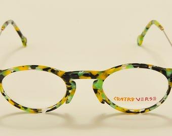 Controverse 3120 (green) vintage eyeglasses