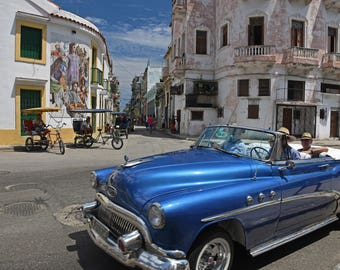 Out for a Drive in Havana, Cuba