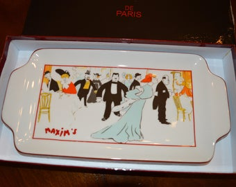 Maxim's of Paris Porcelain Tray