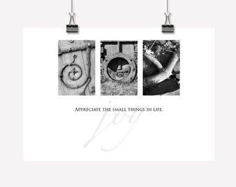 Joy - Inspirational Gift - Wall Art/Decor - Downloadable/Printable PDF