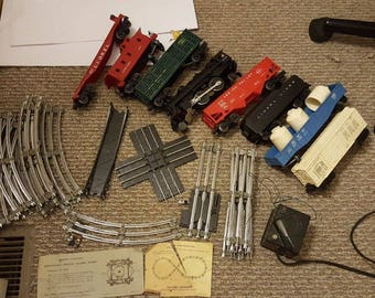1960s Lionel train set