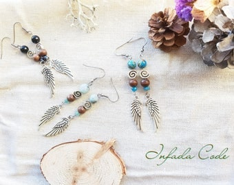 Earrings nature