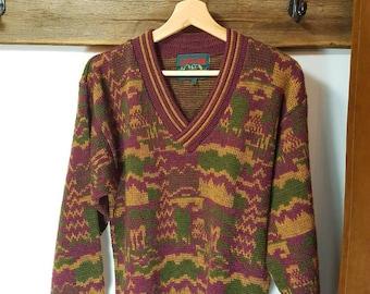 Vintage originals colors sweater
