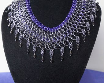 Dragonscale Chain Maille Necklace