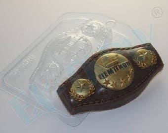 Soap mold, Icetray, Form for chocolate, Clean, the Creative, the Belt, Champion, Boxing, Power