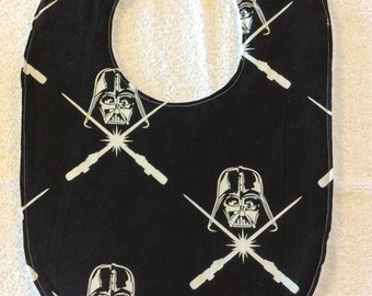 Star Wars Darth Vader Baby Bib