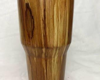 Wood grain 30oz tumbler