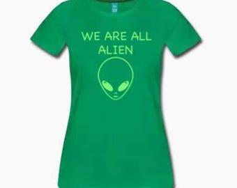ALL ALIEN GREEN