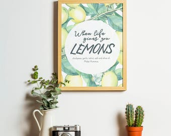 When Life Gives You Lemons - Poster