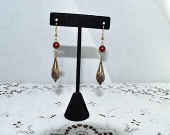 Beautiful vintage chandelier earrings