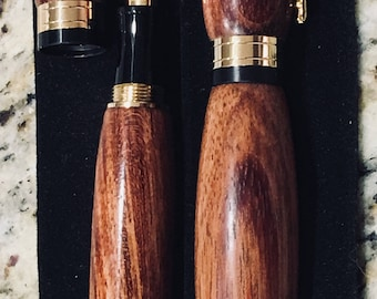 Bubinga wood- fountain pen