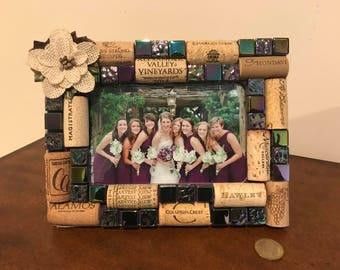 Wine Cork Frame for 4 x 6 Photo