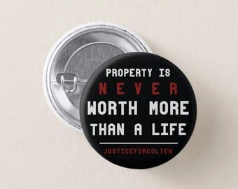 Property Is Never Worth More Button