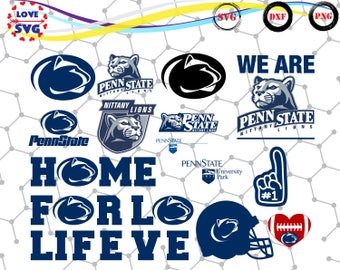 Penn State Nittany Lions SVG PNG DXF