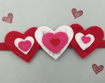 Hearts-A-Plenty Valentine's Day Headband